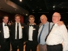 C2011 RSL NSW Congress Dinner - L-R:  Norb, Trent, Will, Fred and Reg. - May 2011