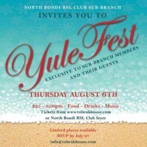 Yule Fest @ North Bondi RSL Club | North Bondi | New South Wales | Australia