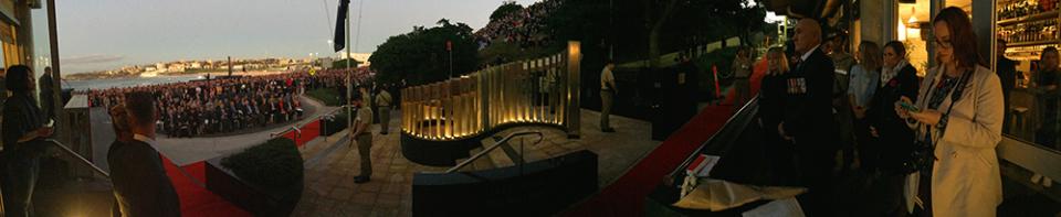 ANZAC Day Dawn Service North Bondi RSL War Memorial 2016